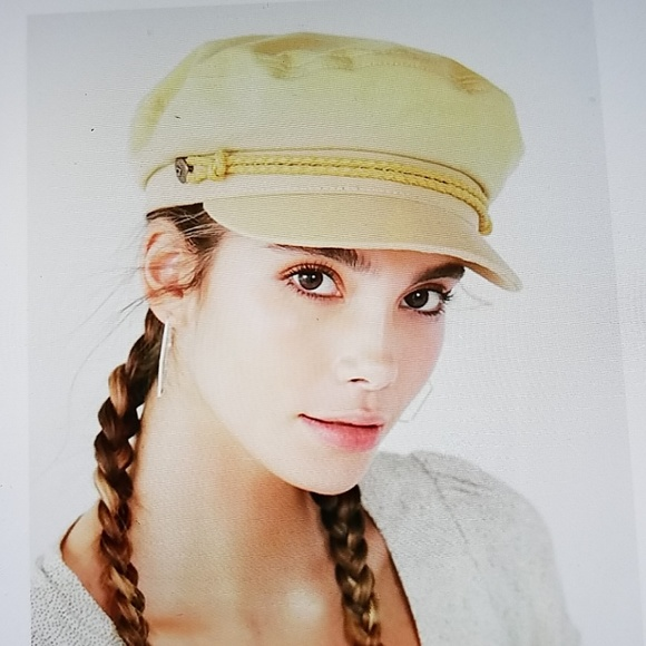 Brixton pale yellow fisherman hat☺ 03f4878b9b58